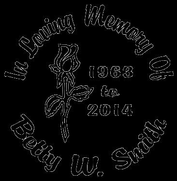 In Loving Memory of rose flower Decal Sticker