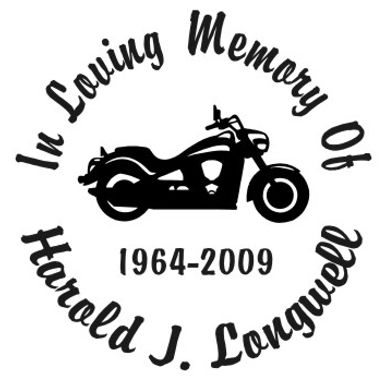 In loving memory of bike scooter Decal Sticker