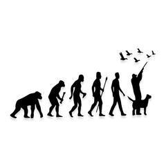 EVOLUTION Born To Hunt Decal Sticker