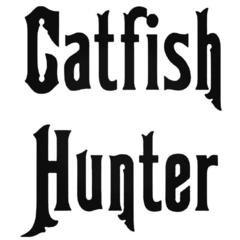 CATFISH HUNTER Fishing Decal Sticker