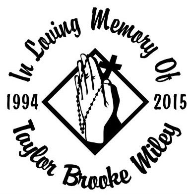 In loving memory of praying hands with beads Decal Sticker