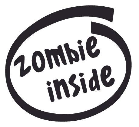 ZOMBIE Inside Decal Sticker