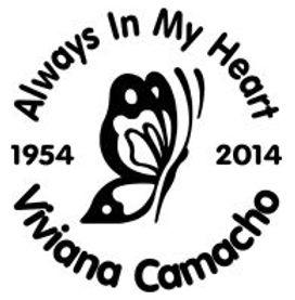Always in my heart butterfly 6 Decal Sticker