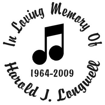 In loving memory of music notes 3 Decal Sticker