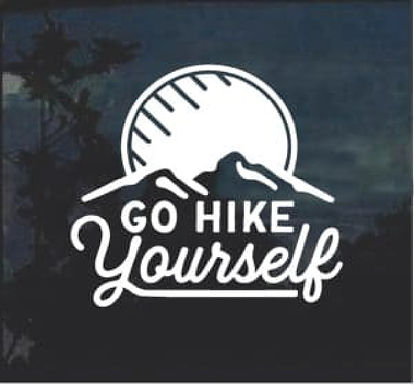 Hiking & Climbing Stickers