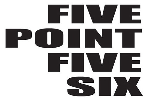 FIVE POINT FIVE SIX Gun Decal Sticker