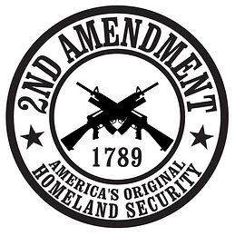 2nd Amendment - America's original Homeland Security Decal