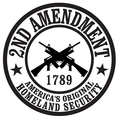 2nd Amendment - America's original Homeland Security Decal