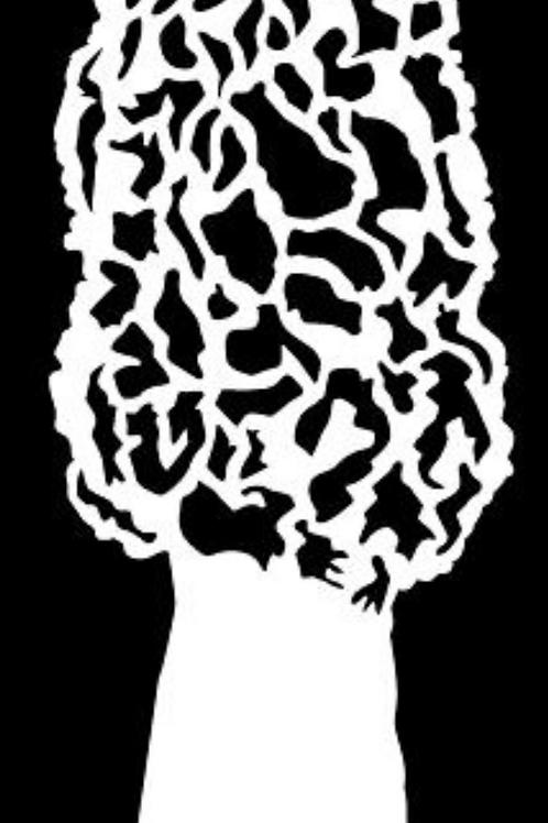 Morel Mushroom Decal Sticker