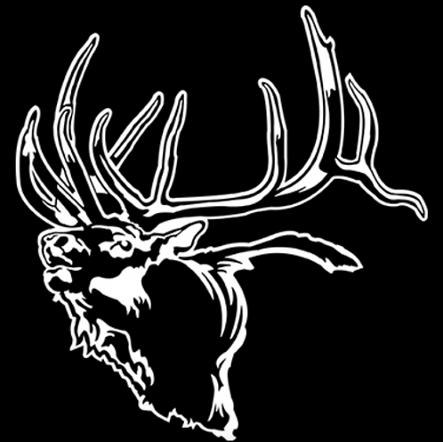 NOW THAT'S AN ELK! Hunting Decal Sticker