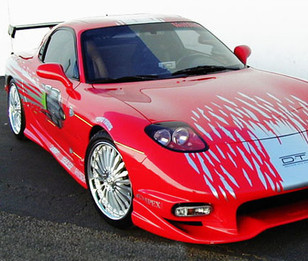 Fast & Furious RX7 Decal Kit