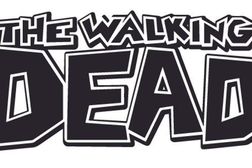 The Walking Dead Comic Decal Sticker