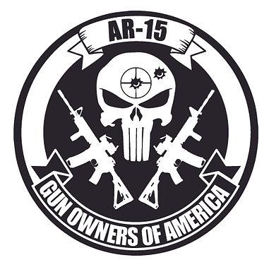 AR-15 GUN OWNERS OF AMERICA Decal Sticker