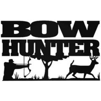 BOW HUNTER In the Field Hunting Decal Sticker