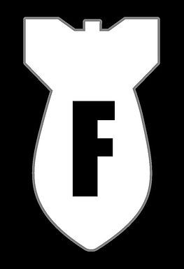F BOMB 2 About to Blow Decal Sticker