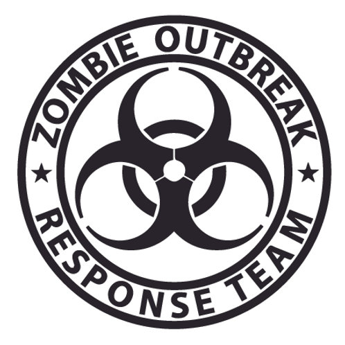 ZOMBIE BREAKOUT Response Team Leader Decal Sticker