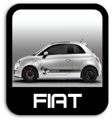 Fiat Stickers & Stripe Kits