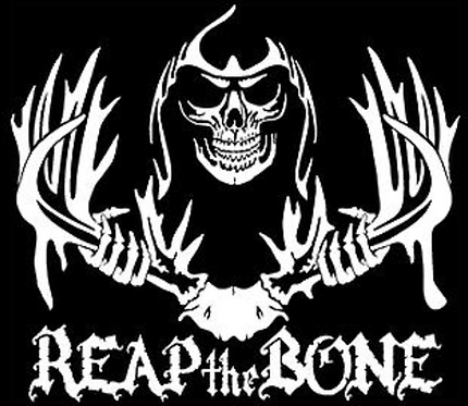 REAP THE BONE! Hunting Decal Sticker