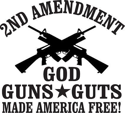 2nd Amendment & Gun Stickers