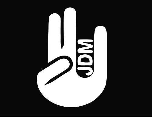 JDM SHOCKER 2 Decal Sticker