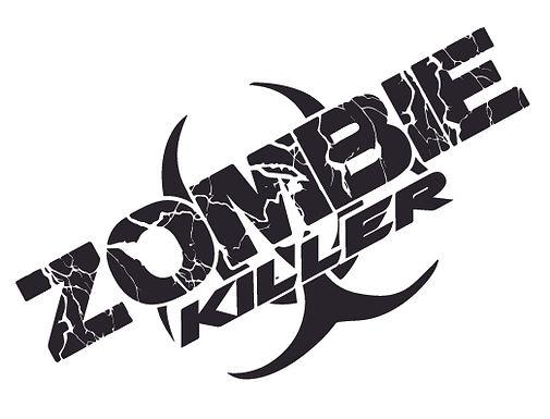 ZOMBIE KILLER Biohard Splash Decal Sticker