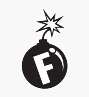 F BOMB About to Blow Decal Sticker