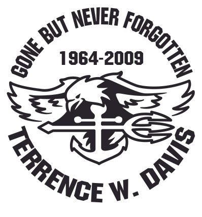 GONE BUT NEVER FORGOTTEN eagle Decal Sticker