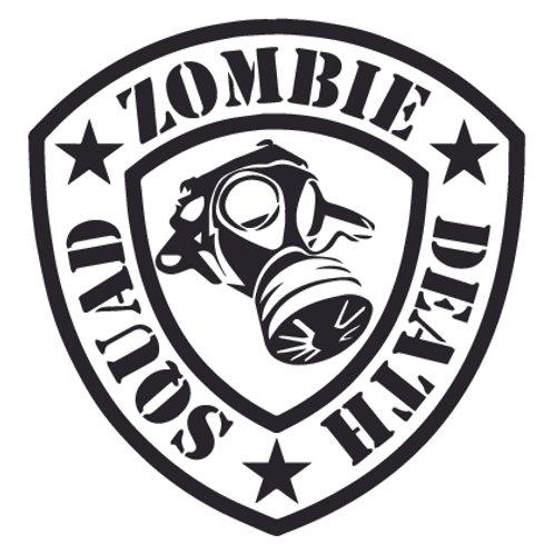 ZOMBIE DEATH SQUAD Decal Sticker