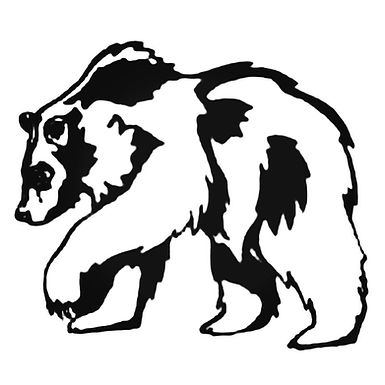 BIG BEAR Hunting Decal Sticker