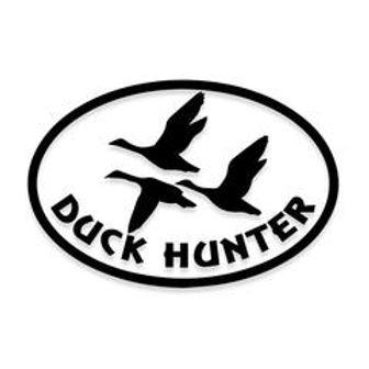 3 Duck Hunter Decal Sticker