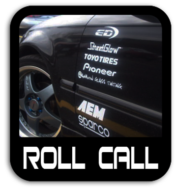 Racing Logos & Roll Call Stickers