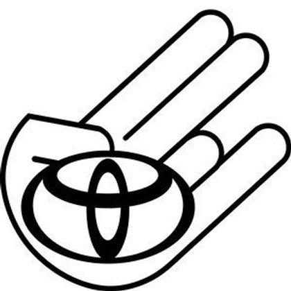 Toyota SHOCKER Decal Sticker