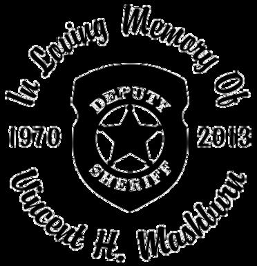 In loving memory of deputy sheriff Decal Sticker