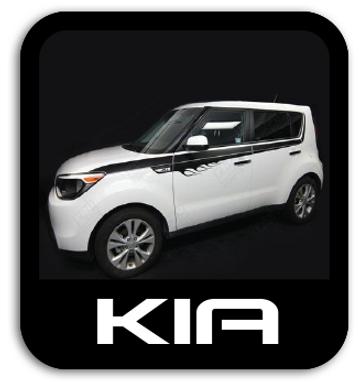 Kia Stickers & Stripe Kits
