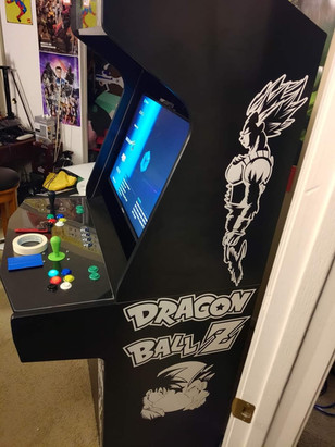 Dragonball Z Video Game Graphic