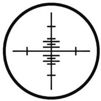 CROSSHAIR Hunting Decal Sticker 2