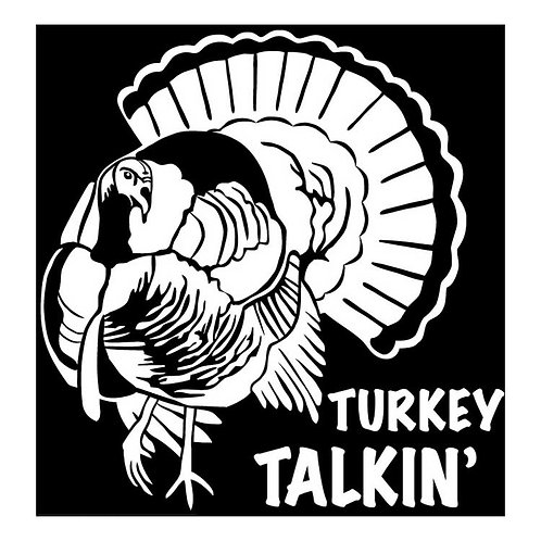 GOBBLER Talkin'Turkey Hunting Decal Sticker