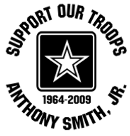 SUPPORT OUR TROOPS Army Decal Sticker