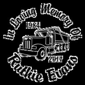 Always in my heart MEGA dump truck Decal Sticker