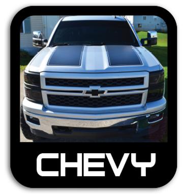 Chevy Stickers & Stripes