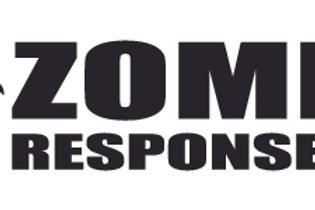 Zombie RESPOSE TEAM Biohazard  Decal Sticker