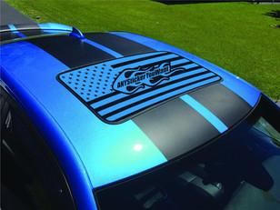 Custom Sunroof U.S. Flag