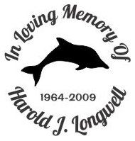 In loving memory dolphin Decal Sticker