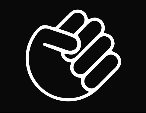 The Whole FIST SHOCKER Decal Sticker