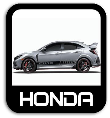 Honda Stickers & Stripe Kits