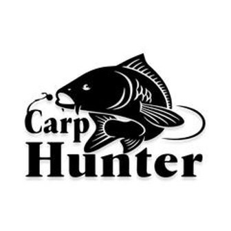 CARP HUNTER Fishing Decal Sticker
