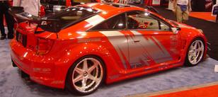 Sema Show Car Splash Decal