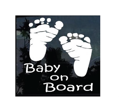 Baby On Board Window Stickers
