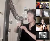 Eleonore Niubo performance at Harptoberf