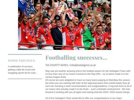 Celebrating footballing successes